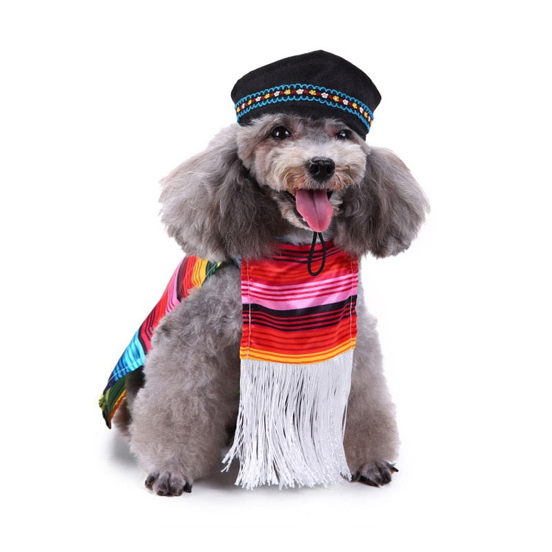 Fashionable Ethnic Style Colorful Costume For Your Dogs - Woof Apparel