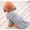 Fashion Soft Fur Collar Warm Autumn & Winter Coat For Dogs - Woof Apparel