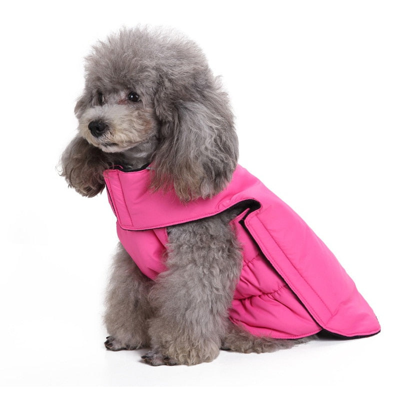 4 colors XS-3XL Pet Dog Winter Vest Thick Warm Dog Clothes - Woof Apparel