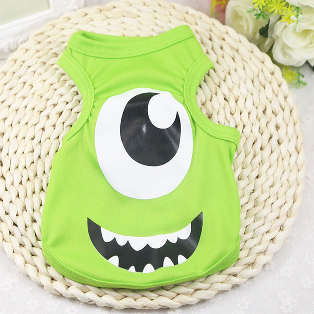 One Eye Mike Wazowski Monster University Puppy Shirt - Woof Apparel