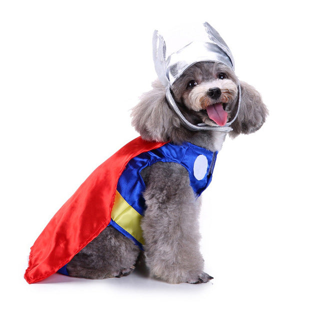Adorable Superheroes Adjustable Costume For Your Lovely Dogs - Woof Apparel