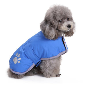 Reversible Safety Reflective Winter Vest For Small Dogs - Woof Apparel