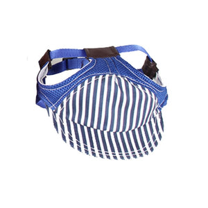 Colorful Stripes Adjustable Baseball Hat For Your Dogs - Woof Apparel