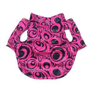 New Comfy Color Printed Winter Outfit Puppy Coat Jacket - Woof Apparel