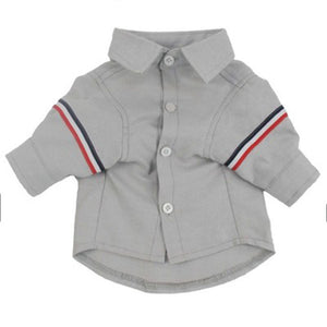 Charming Plain Color Button Polo Summer Small Dog Shirt - Woof Apparel