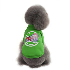 Winter Soft Warm Fleece Sweatshirt For Small To Medium Dogs - Woof Apparel