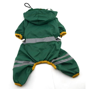 Waterproof Raincoat with Hood for Dogs for Rainy Season - Woof Apparel
