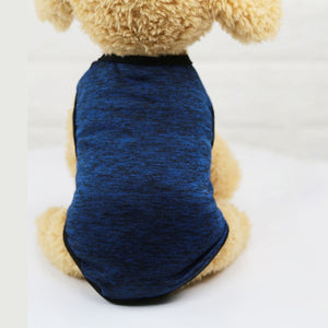 Plain Color Cotton Breathable Spring Outdoor Puppy Shirt - Woof Apparel