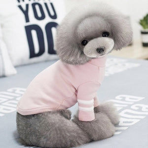 Cute Sporty Winter Clothing Warm Small Dog Sweatshirt - Woof Apparel