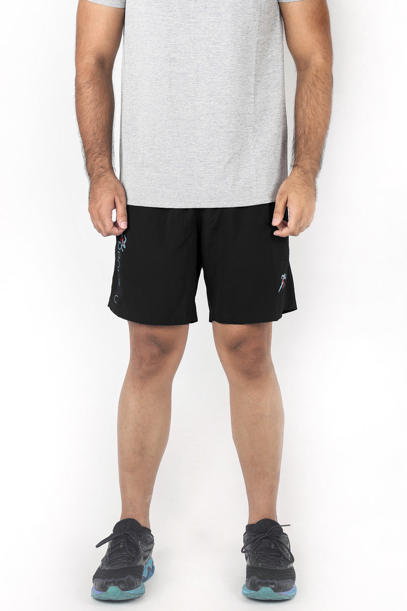Attack 7 Inch Gym Shorts Men - Rich Black