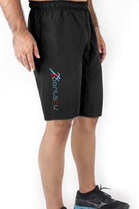 Force 10 Inch Gym Shorts Men - Rich Black