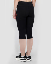 Play Sports, Gym Capris For Women - Black