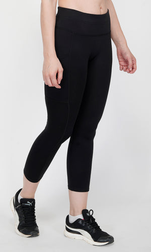 Svelte 7/8th Tights - Black