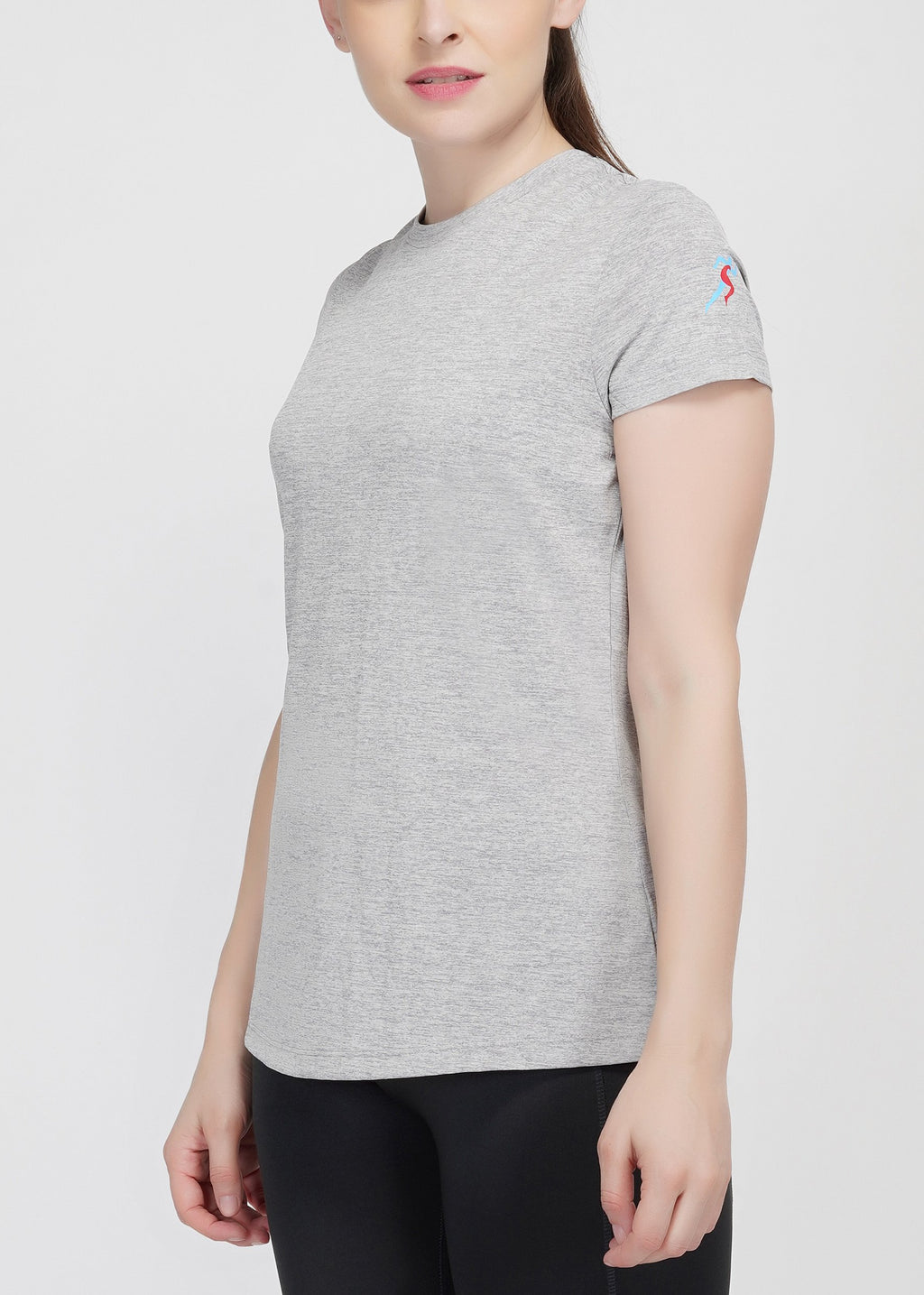 Move Crew T-shirt - Grey Melange