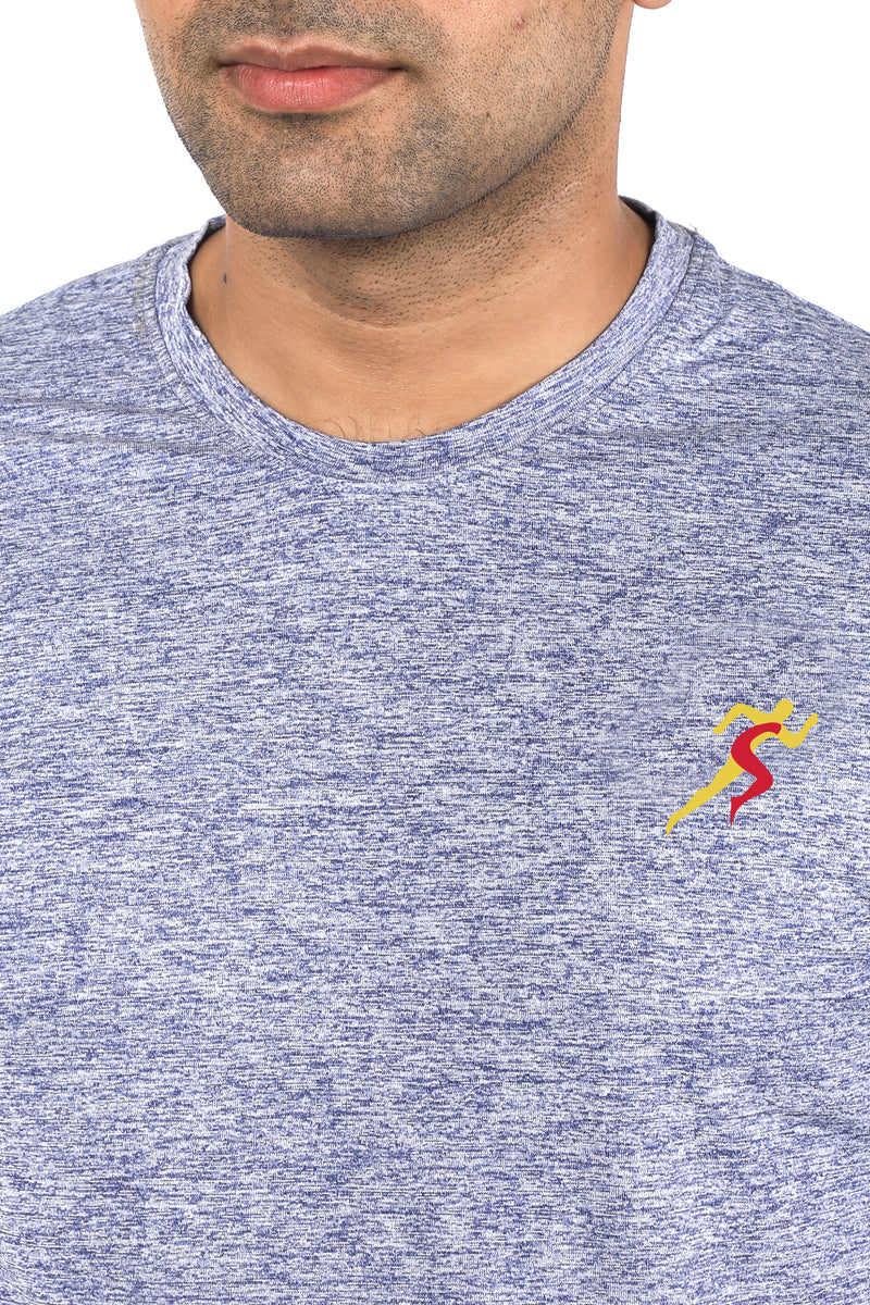 Grit Gym T-Shirt For Men - Yellow Logo