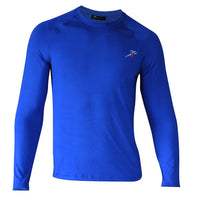 Train Full Sleeves Gym T-shirt For Gym - Electric Blue