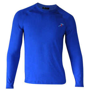 Train Full Sleeves T-shirt - Electric Blue