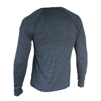 Train Full Sleeves T-shirt - Dark Grey Melange