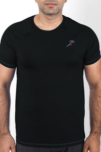 Train Gym T-Shirt For Men - Black