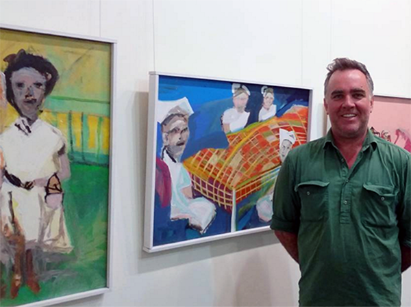 I'm delighted to introduce Nick Osmond, Cooks Hill Galleries represented artist.