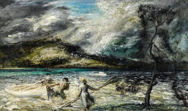William Dobell Storm Approaching Wangi