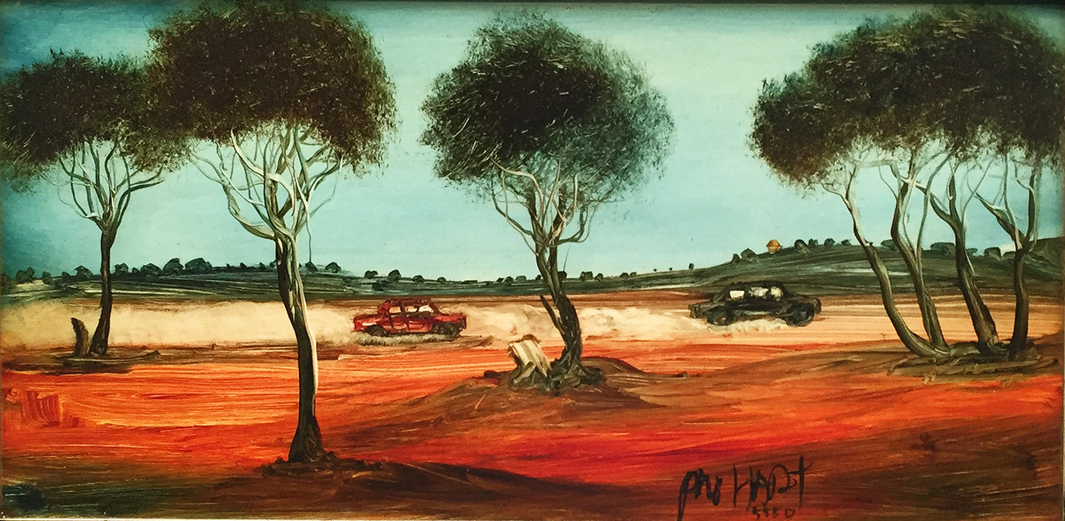 Landscape By Pro Hart Cooks Hill Galleries