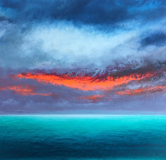 calm before the storm by susan weaver artist art from cooks hill