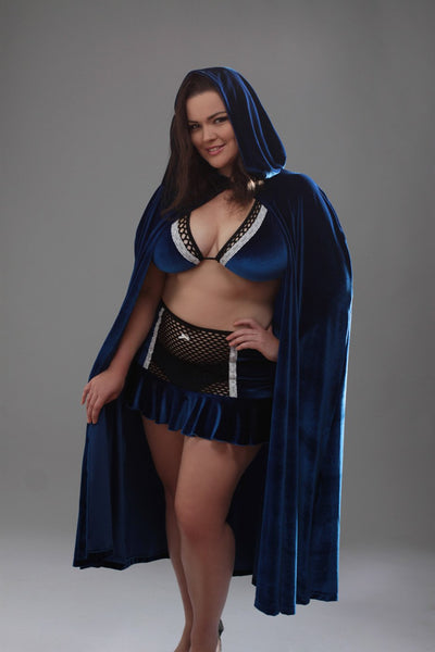 Aussie Cossie DareWear Burlesque Hooded Cape