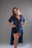 Aussie Cossie DareWear Burlesque Long Gown Basic