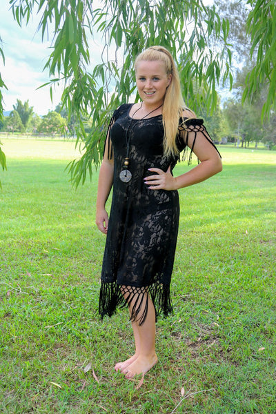 Aussie Cossie DareWear Classic Lace Long Dress