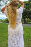 Classic Lace Long Skirt