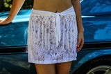 Classic Lace Mini Skirt