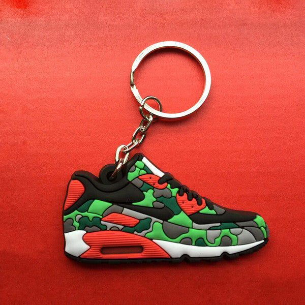 Air Max 90 Camo Keychain-Limited Edition