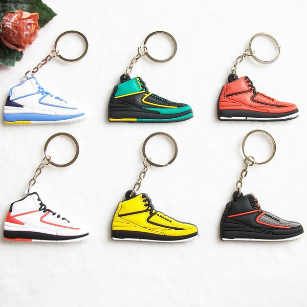 Air Jordan 2 Replica Keychain