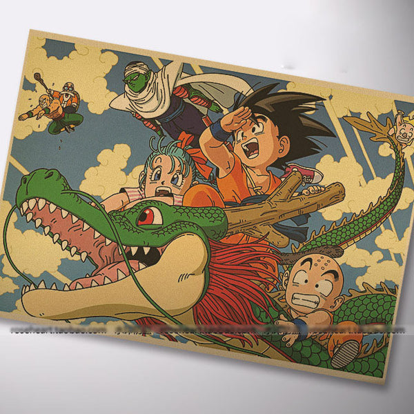Vintage Dragon Ball Z Poster