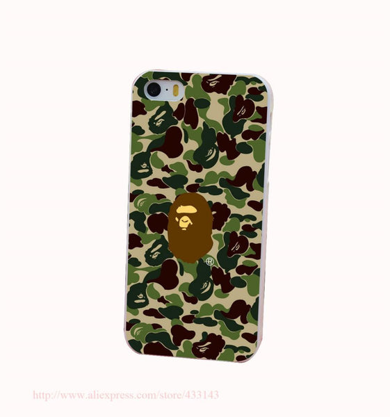 Bape All-Over-Print Case for iPhone