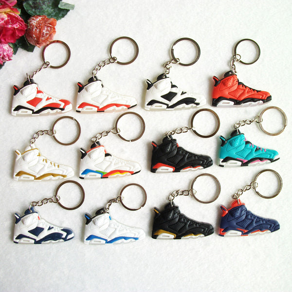 Air Jordan 6 Replica Keychain
