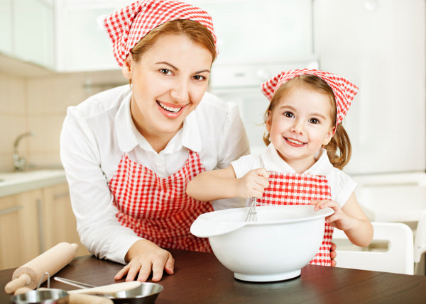 Baking activities on mothers day