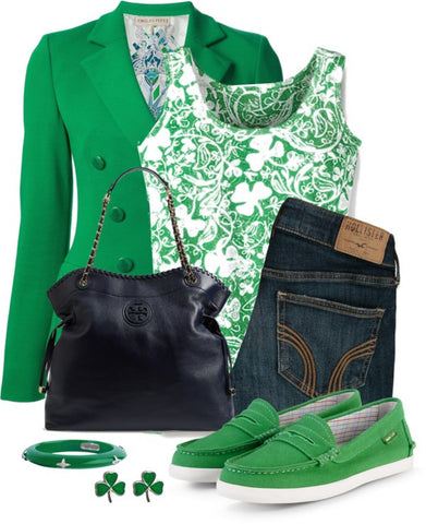 Semi Formal Dress Style For St. Patrick's Day