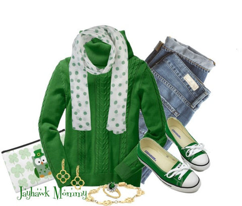 Simple and Effortless Style on St. Patrick's Day