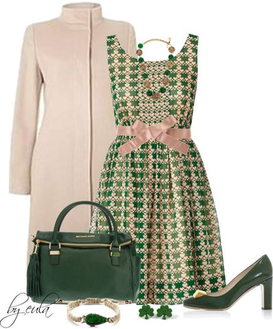Sunny Dress Style  For St. Patrick's Day