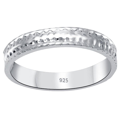 Essence Jewelry 925 Sterling Silver Anniversary Bands Ring