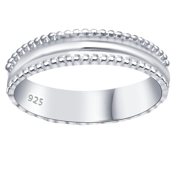Essence Jewelry Solid Sterling Silver Engagement Bands