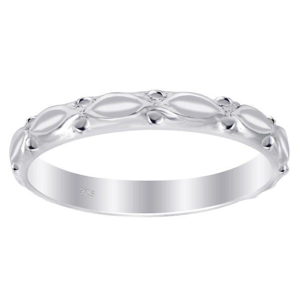 Essence Jewelry 925 Sterling Silver Engagement Bands For Her