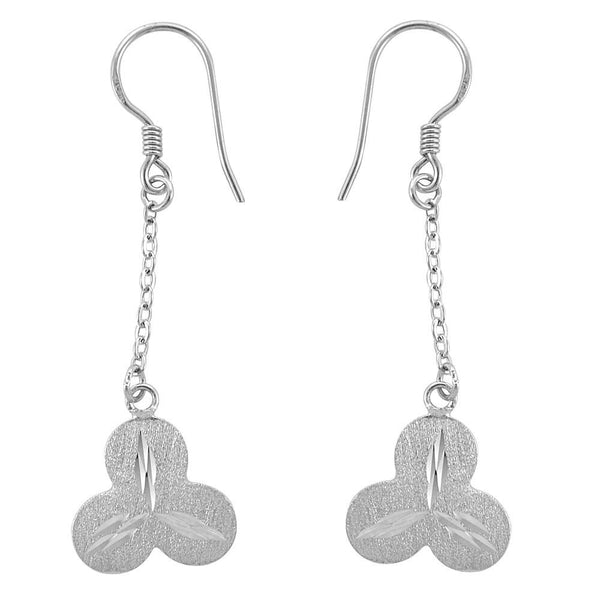 Essence Jewelry 925 Sterling Silver Chain Earrings