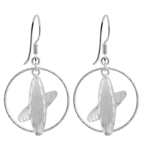 Essence Jewelry 925 Sterling Silver Plain Earrings