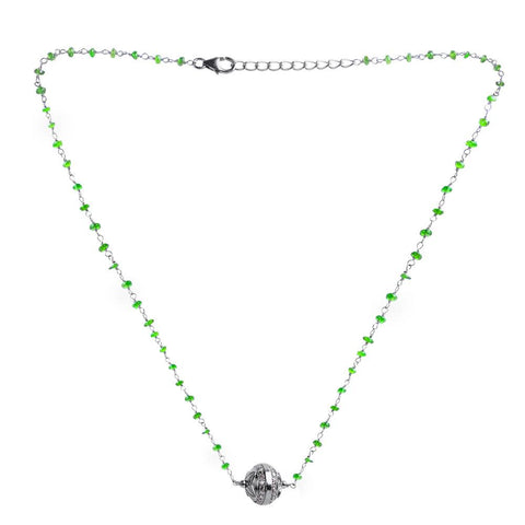 Chrome Diopside Necklaces