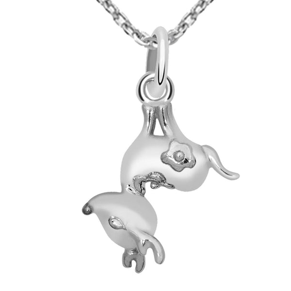 Essence Jewelry 925 Sterling Silver Pendant Necklace