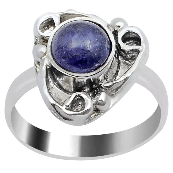 Quality Jewelry Graceful Fashion Ring with 1.40 Carat Genuine Tanzanite