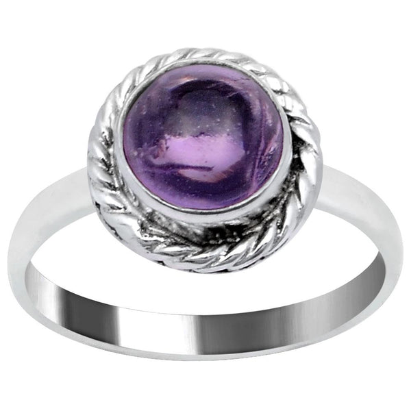 Quality Jewelry 2.10 Carat Amethyst White Gold Plated Fashion Ring